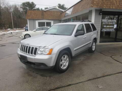 2009 Jeep Grand Cherokee for sale at Millbrook Auto Sales in Duxbury MA