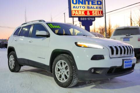 2018 Jeep Cherokee for sale at United Auto Sales in Anchorage AK