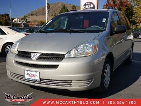 2005 Toyota Sienna for sale at McCarthy Wholesale in San Luis Obispo CA