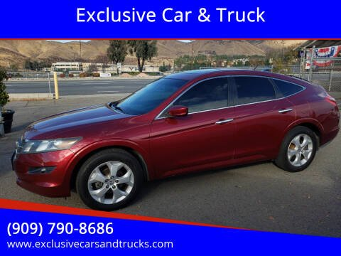 2010 Honda Accord Crosstour for sale at Exclusive Car & Truck in Yucaipa CA
