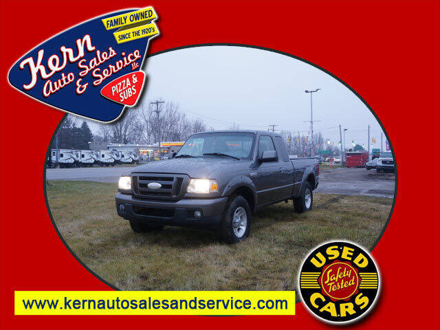 2007 Ford Ranger for sale at Kern Auto Sales & Service LLC in Chelsea MI