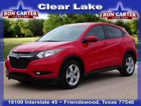 2016 Honda HR-V for sale at Ron Carter  Clear Lake Used Cars in Houston TX