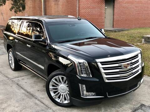 2016 Cadillac Escalade ESV for sale at Unique Motors of Tampa in Tampa FL