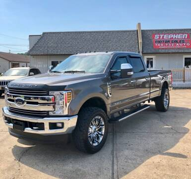 2018 Ford F-250 Super Duty for sale at Stephen Motor Sales LLC in Caldwell OH