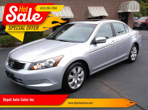 2010 Honda Accord for sale at Depot Auto Sales Inc in Palmer MA