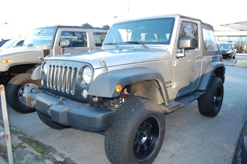 2015 Jeep Wrangler for sale at Modern Motors - Thomasville INC in Thomasville NC