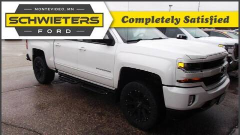 2018 Chevrolet Silverado 1500 for sale at Schwieters Ford of Montevideo in Montevideo MN