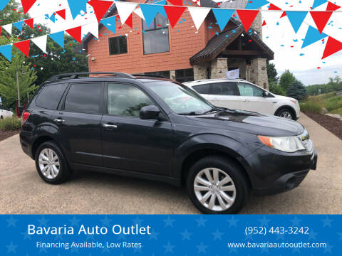 2013 Subaru Forester for sale at Bavaria Auto Outlet in Victoria MN