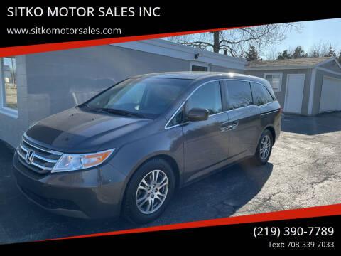 2011 Honda Odyssey for sale at SITKO MOTOR SALES INC in Cedar Lake IN