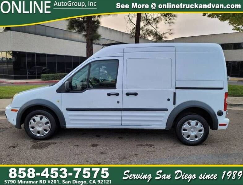 2010 Ford Transit Connect for sale at Online Auto Group Inc in San Diego CA