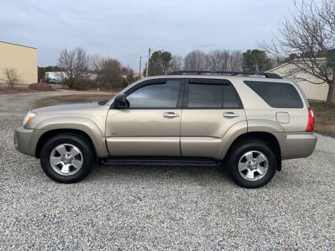 2006 Toyota 4Runner for sale at MEEK MOTORS in North Chesterfield VA