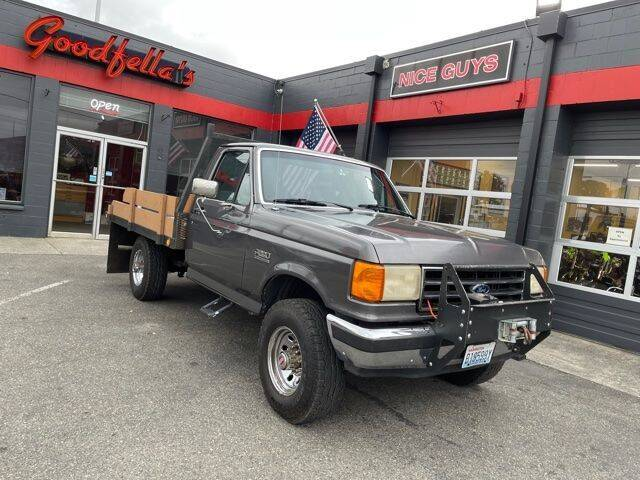 1991 Ford F-250 for sale at Goodfella's  Motor Company in Tacoma WA