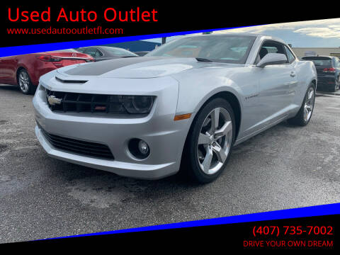 2011 Chevrolet Camaro for sale at Used Auto Outlet in Orlando FL