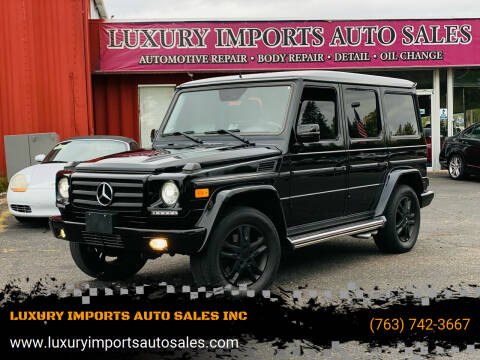 2012 Mercedes-Benz G-Class for sale at LUXURY IMPORTS AUTO SALES INC in North Branch MN
