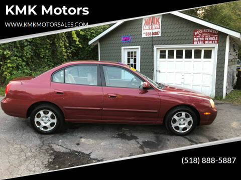 2003 Hyundai Elantra for sale at KMK Motors in Latham NY