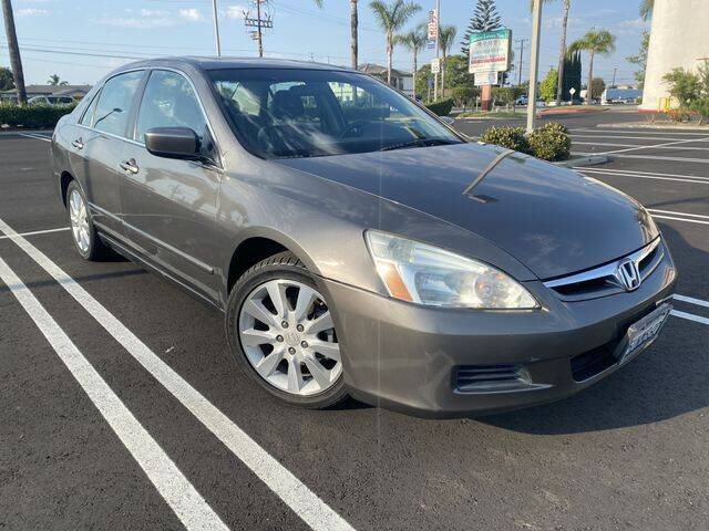 2006 Honda Accord for sale at Beach Auto Group LLC in Midway City CA