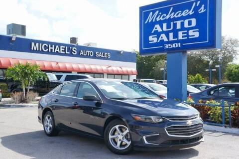 2017 Chevrolet Malibu for sale at Michael's Auto Sales Corp in Hollywood FL
