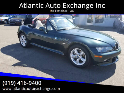 2001 BMW Z3 for sale at Atlantic Auto Exchange Inc in Durham NC