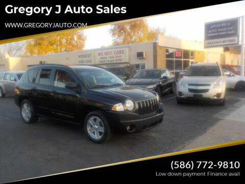 2008 Jeep Compass for sale at Gregory J Auto Sales in Roseville MI