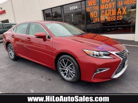 2017 Lexus ES 350 for sale at Hi-Lo Auto Sales in Frederick MD
