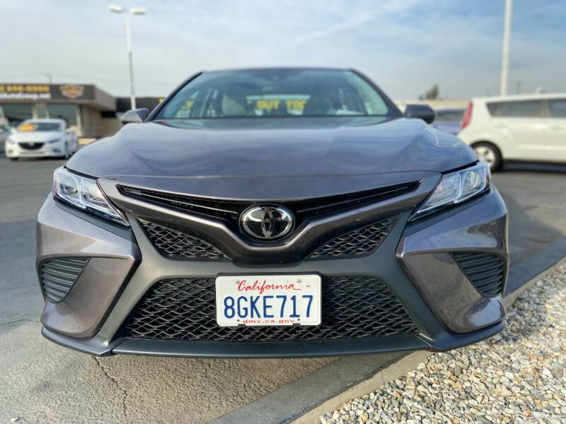 2019 Toyota Camry for sale at Global Auto Group in Fontana CA