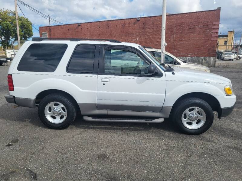 2003 Ford Explorer Sport for sale at LINDER'S AUTO SALES in Gastonia NC