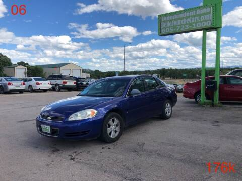 2006 Chevrolet Impala for sale at Independent Auto in Belle Fourche SD