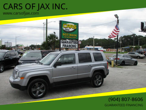2016 Jeep Patriot for sale at CARS OF JAX INC. in Jacksonville FL