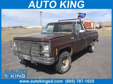 1978 Chevrolet CK109 for sale at Auto King in Rapid City SD