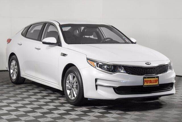 2016 Kia Optima for sale at Chevrolet Buick GMC of Puyallup in Puyallup WA