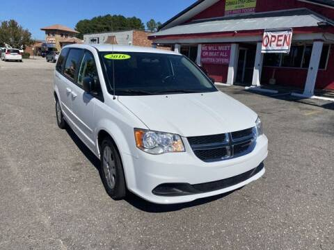 2016 Dodge Grand Caravan for sale at Sell Your Car Today in Fayetteville NC