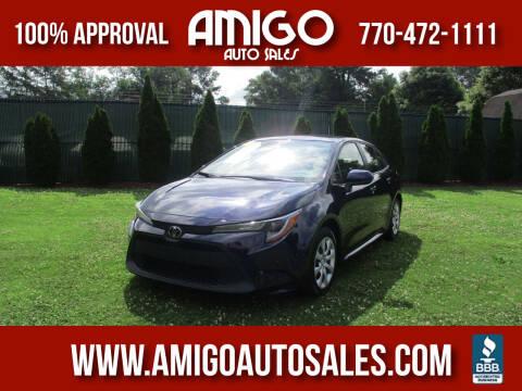 2020 Toyota Corolla for sale at Amigo Auto Sales in Marietta GA