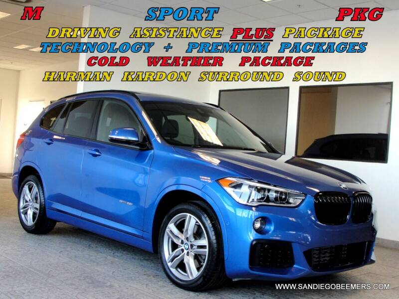 2017 BMW X1 for sale at SAN DIEGO BEEMERS in San Diego CA