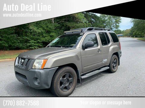 2005 Nissan Xterra for sale at Auto Deal Line in Alpharetta GA