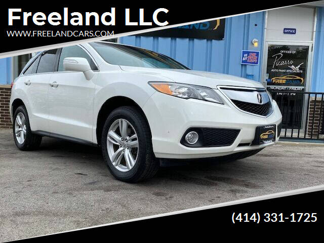 2015 Acura RDX for sale at Freeland LLC in Waukesha WI