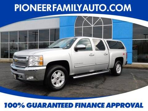 2012 Chevrolet Silverado 1500 for sale at Pioneer Family auto in Marietta OH