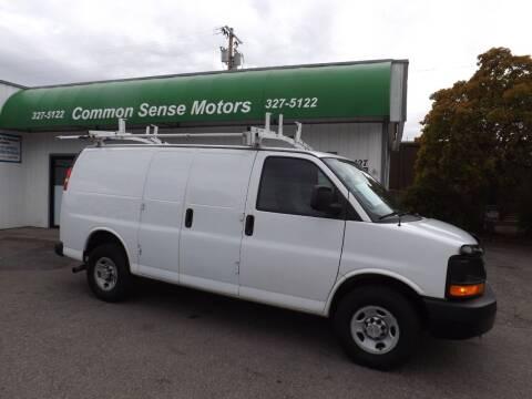 2013 Chevrolet Express Cargo for sale at Common Sense Motors in Spokane WA