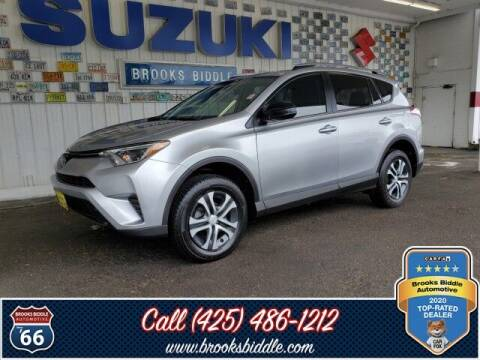 2018 Toyota RAV4 for sale at BROOKS BIDDLE AUTOMOTIVE in Bothell WA
