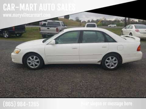 2002 Toyota Avalon for sale at CAR-MART AUTO SALES in Maryville TN
