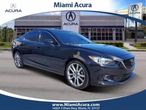 2014 Mazda MAZDA6 for sale at MIAMI ACURA in Miami FL