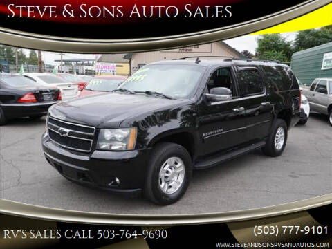2007 Chevrolet Suburban for sale at Steve & Sons Auto Sales in Happy Valley OR