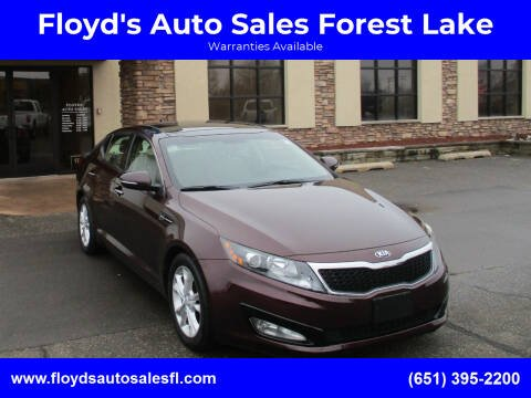2013 Kia Optima for sale at Floyd's Auto Sales Forest Lake in Forest Lake MN