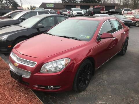 2012 Chevrolet Malibu for sale at GMG AUTO SALES in Scranton PA