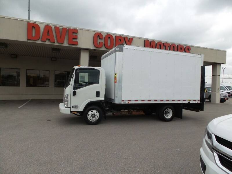 2016 Isuzu NPR for sale at DAVE CORY MOTORS in Houston TX