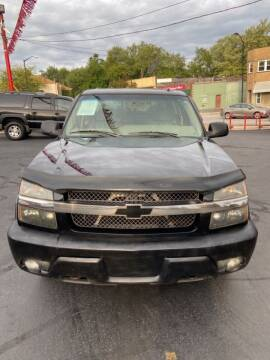 2002 Chevrolet Avalanche for sale at North Hill Auto Sales in Akron OH