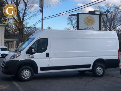2019 RAM ProMaster Cargo for sale at Gaven Auto Group in Kenvil NJ