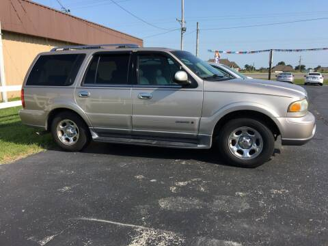 2002 Lincoln Navigator for sale at Towell & Sons Auto Sales in Manila AR