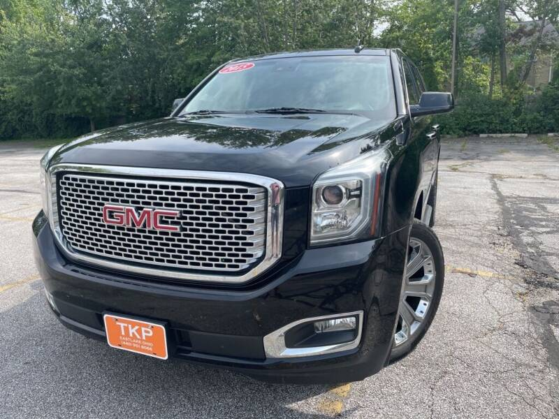 2015 GMC Yukon for sale at TKP Auto Sales in Eastlake OH