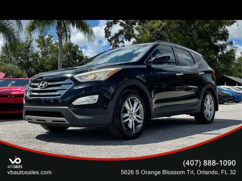 2013 Hyundai Santa Fe Sport for sale at V & B Auto Sales in Orlando FL