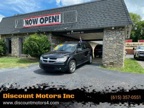 2009 Dodge Journey for sale at Discount Motors Inc in Old Hickory TN